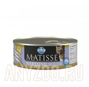 Matisse Cat Sardine mousse