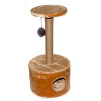 Дарэлл Домик-когтеточка для кошек круглый малый арт.8110