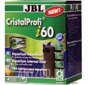 фото JBL CristalProfi  i60 greenline Внутренний угловой фильтр для аквариумов 40-80 литров, 150-420 л/ч