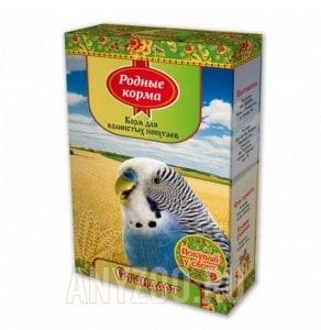 фото Родные корма корм для волнистых попугаев