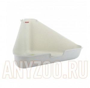 фото I.P.T.S. 810896 Туалет для грызунов угловой, гранитный цвет