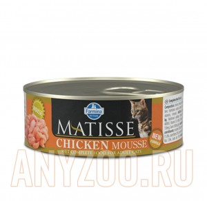 Matisse Cat Chicken mousse