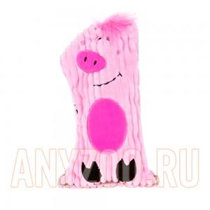 Купить Petstages Ботл Гиглерс Игрушка для собак текстильная с бутылкой и пищалкой Свинка