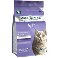 Arden Grange Adult Cat Light GF Chiken&Potato