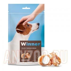 Мираторг Winner лакомство для собак Трахея говяжья (мини) охлажденнае дой пак