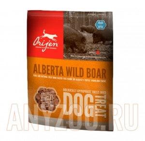 фото Orijen FD Wild Boar Dog -Ориджен Дикий кабан сублимированное лакомство для собак всех возрастов
