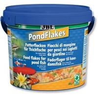 фото JBL Pond Flakes Корм для прудовых рыб в форме хлопьев