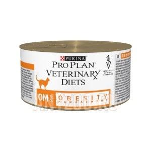 фото Pro Plan Veterinary Diet Obesity Management OM Консервы для кошек при ожерении Курица