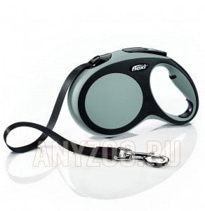 фото Flexi New Comfort рулетка для собак, размер L, 5м*60кг, ремень
