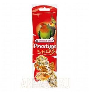 фото Versele-Laga Prestige палочка для средних попугаев с орехами и медом