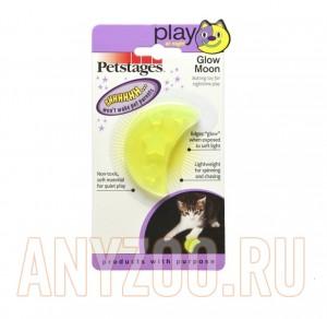Купить Petstages Orka игрушка для кошек Луна светящаяся в темноте 6см