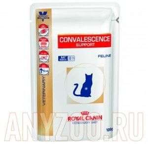Купить Royal Canin Convalescence Suppotr S/O Роял Канин пауч для кошек в период выздоровления
