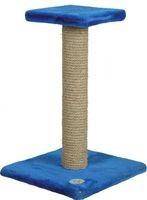 Зооник Когтеточка на подставке с полочкой 54 см (однотонный мех) 340*340*540