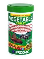 фото Prodac Продак Vegetable Tablet комплексный корм для всех донных рыб-вегетарианцев в таблетках