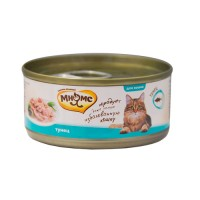 фото Мнямс консервы для кошек Тунец в нежном желе