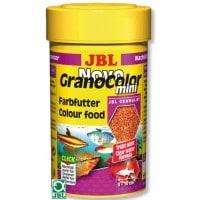 фото JBL NovoGranoColor mini Refill Основной корм в форме цветных мини-гранул для маленьких рыб