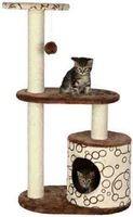 """фото Trixie Домик для кошки """"Casta"""" коричневый/бежевый 95 см"""