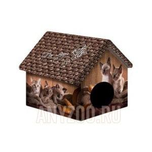 фото PerseiLine Персилайн Дизайн домик для животных Котята