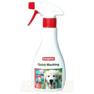 фото Beaphar Quick Washing 13999 Беафар Экспресс-шампунь для собак и кошек
