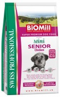 Biomill Swiss Professional Mini Senior Chicken