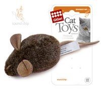 фото GiGwi Игрушка для кошек Мышка с музыкальным механизмом