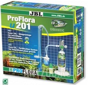 фото JBL ProFlora u201 Система СО2 для аквариумов от 10 до 200 литров со сменным баллоном 95 г