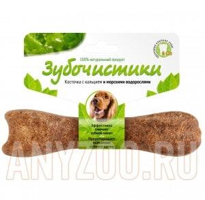 фото Зубочистики Косточка для собак 10-25кг с кальцием и морскими водорослями