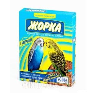 Жорка Корм для волнистых попугаев Минерал