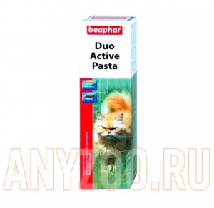 фото Beaphar Duo Active - Беафар паста для вывода шерсти из желука для кошек