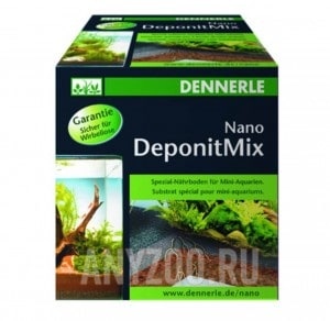 Купить Dennerle Nano Deponit Mix Специальная грунтовая подкормка для мини-аквариумов. Готовая смесь, 1 кг