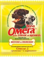 Омега Nео мультивитаминное лакомство для щенков и собак Протеин/L-карнитин