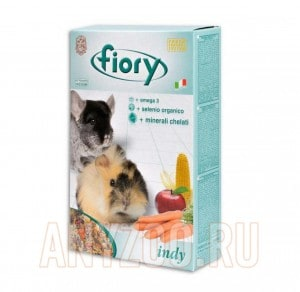 Fiory Indy Фиори корм для морских свинок и шиншилл