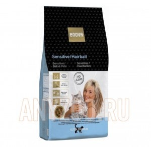 Enova Sensitive / Hairball Cat