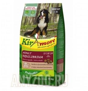 фото Kiramore Maxi Equilibrium Кираморе сухой корм для собак крупных пород с ягненоком