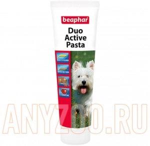 """фото Beaphar """"Duo Active"""" - Беафар Мультивитаминная паста для собак"""