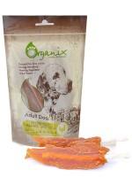 Органикс Лакомство для собак Куриное филе на палочке 100% мясо