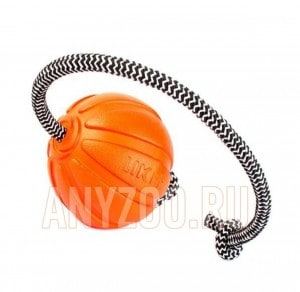 фото Liker Лайкер Лайн Мячик на шнуре оранжевый