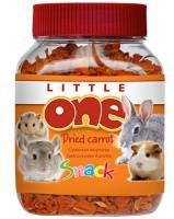 фото Little One  Сушенная морковь для всех видов грызунов