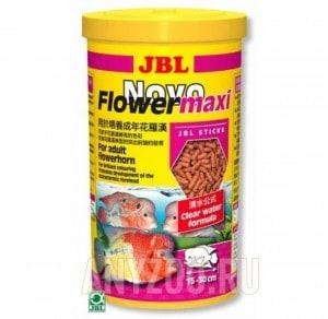 фото JBL NovoFlower maxi Палочки  для цихлид Флауер Хорн крупного размера