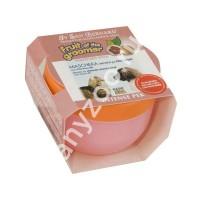 фото Iv San Bernard Маска Розовый грейпфрут с витаминами для собак и кошек для шерсти средней длины