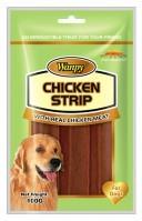 фото Wanpy Dog лакомство для собак соломка из мяса ягненка