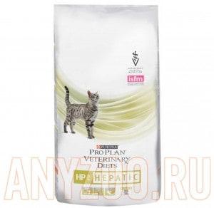 фото Pro Plan Veterinary Diets Hepatic Feline HP Сухой корм для кошек при заболевании печени