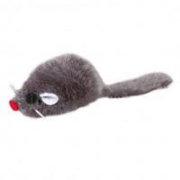 """фото Trixie 4052 Набор игрушек для кошек """"Мышь серая"""" 5см"""