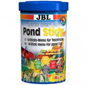 """фото JBL Pond Sticks 4in1 Комплексный корм в форме """"палочек"""" для всех прудовых рыб"""