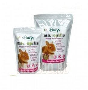 Купить Fiory Фиори Micropills Baby Rabbits корм для крольчат