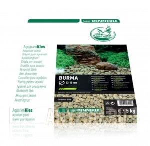 Купить Dennerle Nature Gravel PlantaHunter Burma  Натуральный гравий для аквариума, 12-15 мм