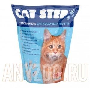 Cat Step  Наполнитель силикагелевый наполнитель для кошек