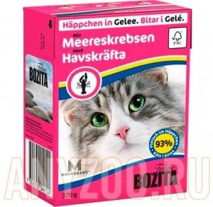 Купить Bozita Tetra Pak кон.д/кошек Кусочки в желе Лангуст