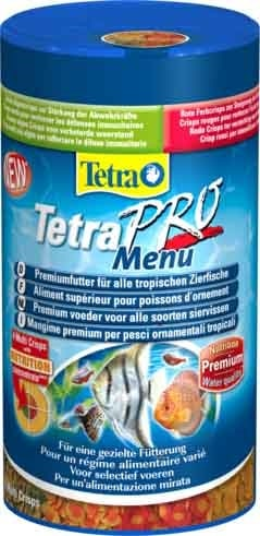 Tetra Pro Корм для всех видов декоративных рыб (хлопья и энергетические добавки) 500мл ( Корм для рыб )