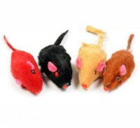фото Triol Набор для кошек Мышь цветная 5см